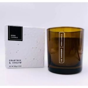 Crabtree & Evelyn Herb Candle With Planting Seeds